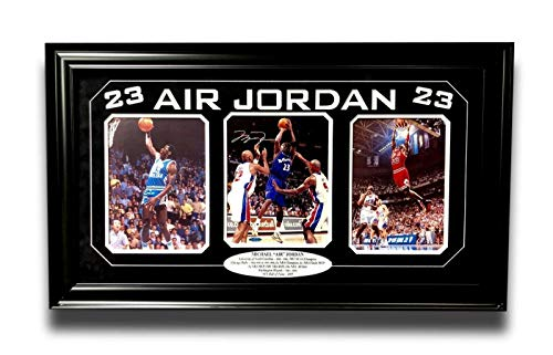 Michael Jordan Chicago Bulls NBA Framed 8x10 Photograph Career Collage