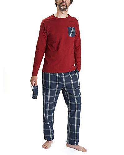 Nightoclock Brent Pyjamas Biologische Baumwolle Herren (M)