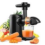 Best Masticating Juicers - Slow Masticating Juicer, Bagotte Juicer Machines, Higher Juice Review