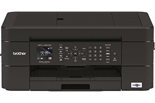 Brother MFCJ491DWG1 4-in-1 Tinten-Multifunktionsgerät 6.000 x 1.200 dpi mit Faxfunktion und 20 Blatt ADF