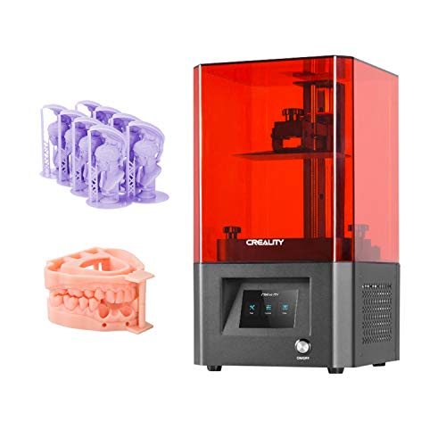 Original Creality LD-002H LCD Resin 3D Printer UV Photocuring 130*82*160mm Printing Size 2K High Resolution LCD with 3.5 Inch Touchscreen Air Filtration System Z-axis Linear Rail Off-line Print Easy