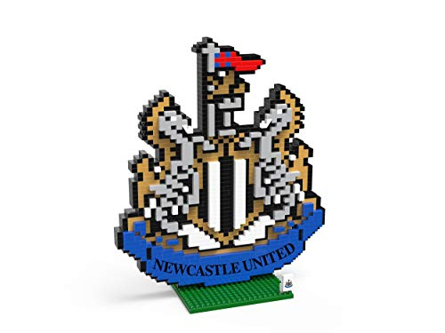 FOCO Football Club Crest BRXLZ Building Set 3D Construction Toy (Newcastle United)