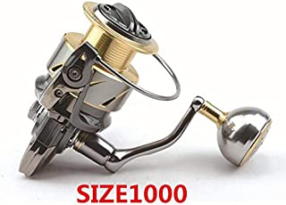 Hronyenorts Spinning Fishing Reel 5.2:1/11+1BB Steering-Wheel CNC Handle Molinete para Pesca Spinning Reel Moulinet Peche