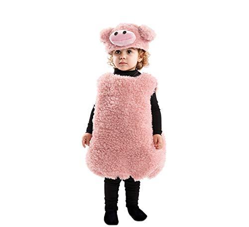 EUROCARNAVALES Disfraz de Cerdito Rosa para bebé
