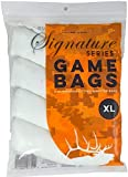 Koola Buck Signature Series Heavy-Duty Reusable Hunting Game/Meat Bags - 4-Pack XL Quarter Bags - Wild Game: Deer, Elk, Moose, Caribou, Antelope & Hogs
