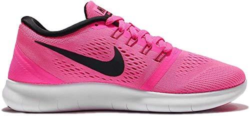 Nike Free RN Laufschuhe Damen, Pink (Pink Blast/Black-Fire Pink-Wht), 36.5 EU