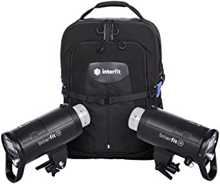 Interfit S1 On-Location Portable 2-Light Backpack Kit