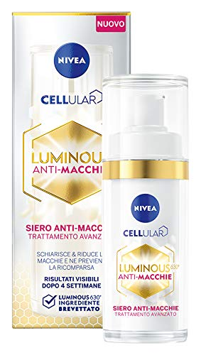 NIVEA Cellular Luminous 630 Siero Anti-Macchie Trattamento Avanzato, 30 ml
