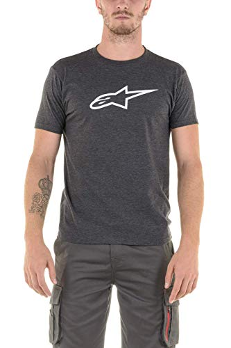 Alpinestars Ageless II Tee T-Shirt Homme, Charcoal Heather/Grey, s