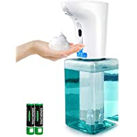 Thehomeuse 450ML Touchless Infrared Automatic Foaming Soap Dispenser for Bathroom,Kitchen,Office