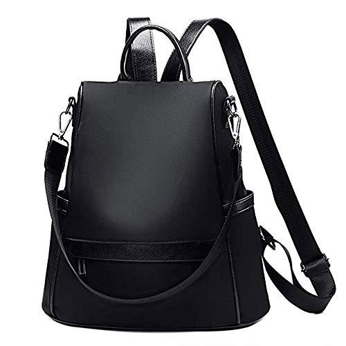 DASHI Women Backpack Purse Waterproof Nylon Lightweight Anti-Theft Fashion Casual Bags Travel & College School Shoulder Handbags