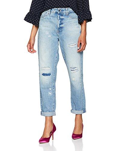 schwarze jeans 25 damen ankle gstar