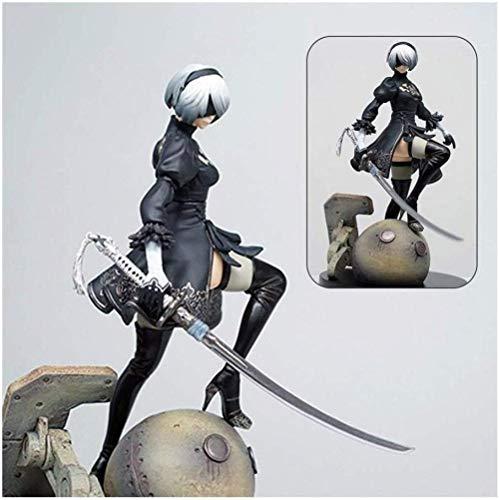 XLLQYY Junkrat Actionfigur Anime NieR Automata 2B Yorha No 2 Typ B PVC Figur Spielzeug Anime Geschenk