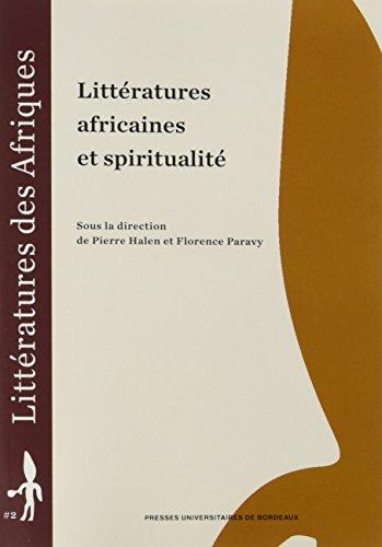 ਅਫਰੀਕੀ ਸਾਹਿਤ ਅਤੇ ਅਧਿਆਤਮਿਕਤਾ