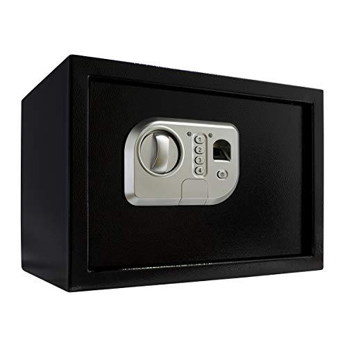 Cofre Digital Eletrônico Leitor Biométrico Senha 32x22x22 cm