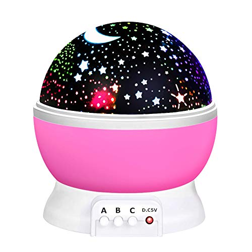 Birthday Gifts Presents for 2-10 Year Old Girls, Wonderful Quiet Romantic Star Light for Kids Toys for 2-10 Year Old Boys Xmas Halloween Gifts for 2-10 Year Old Boys Stocking Stuffers Fillers