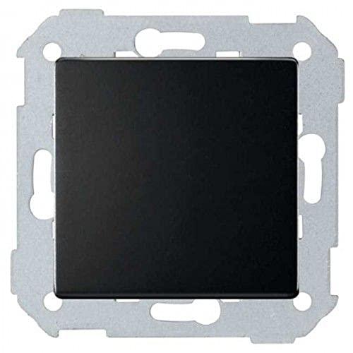 Tecla doble para mecanismos de mando, serie 82 Concept, 1 x 5,5 x 5,5 centímetros, color negro mate (referencia: 8200026-098)