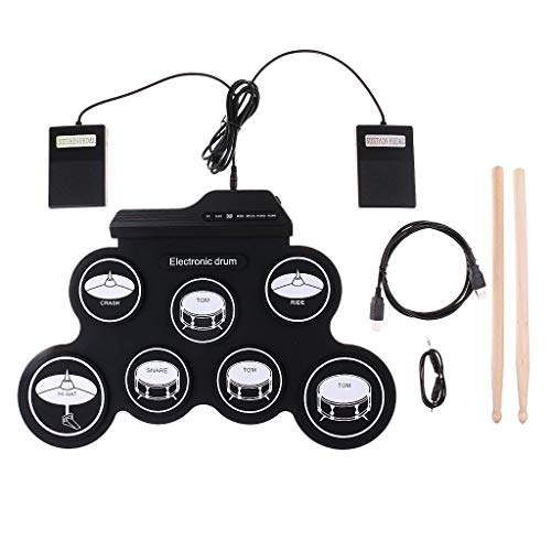 Yangers Electric Drum Kits for Children Beginners, Portable...