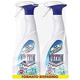 VIAKAL Detersivo Anticalcare Bagno 3 in 1 Spray, Maxi Formato 2 Pezzi da 700 ml