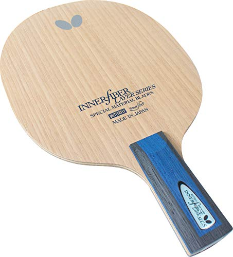 Butterfly Innerforce Layer ALC.S CS Table Tennis Blade - ALC Fiber Blade - Professional Butterfly Table Tennis Blade - Good for Traditional or Reverse Chinese Penhold Style - Made in Japan