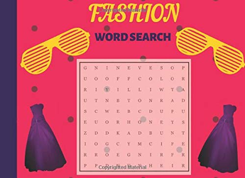 Fashion Word Search: Large Print Puzzle Book