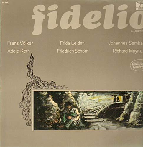 Fidelio,, Franz Völker, Frida Leider, Adele Kern
