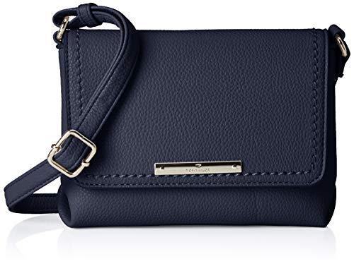 TOM TAILOR Umhängetasche Damen, Lou,Blau, 19x15x6 cm, TOM TAILOR Handtaschen, Taschen für Damen