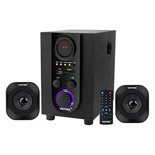 Vemax Vista 2.1 Bluetooth Home Theater System (Black)