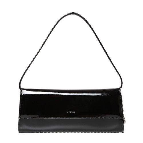 Picard Auguri 4022 schwarz-lack, Abendtasche, Clutch, Schultertasche, Handgelenktasche