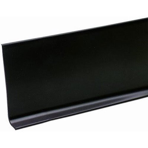 M-D Building Products 93146 4-Inch by 20-Feet Adhesive Back Vinyl Wall Base, Black