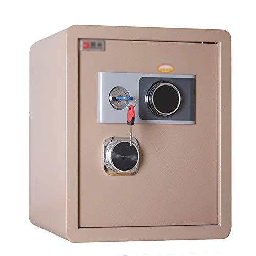 Kabinettsafes Mechanische Passwort Haushalts Safe Hotel Homestay Alle Stahl Safe für den Einsatz zu Hause oder im Büro (Color : Gold, Size : One Size)