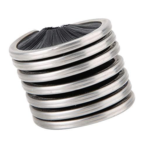 Cepillo de Limpieza de Cuerda Negra, Limpiador de Cuerda de Escalada de...