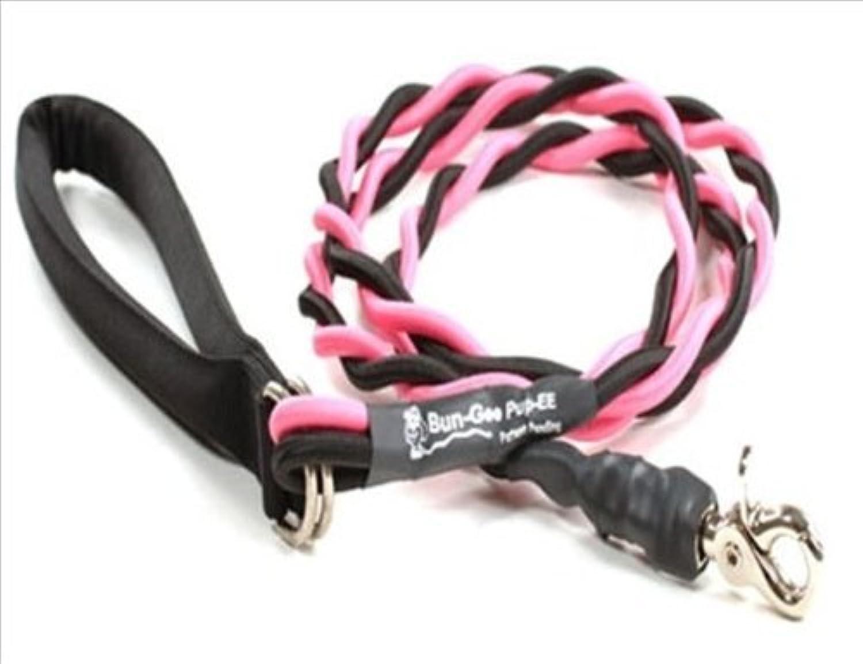 Bungee Pupee 6Feet Medium Leash, Pink Black by Bungee Pupee Company