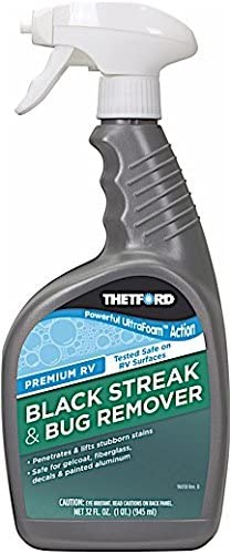 Premium RV Black Streak Remover and Bug Remover Ultrafoam 32 oz Thetford 32816 product image