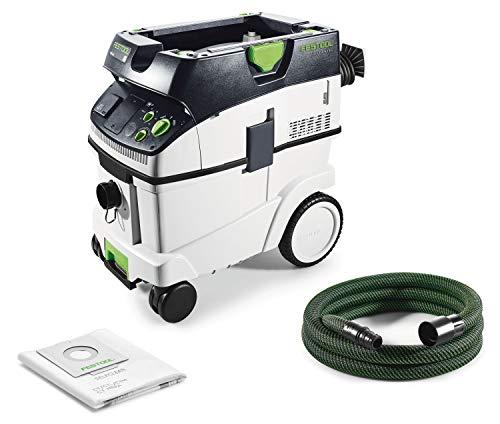 Festool CTM 36 E Cleantec-Aspirador 574988, Negro y verde, Size