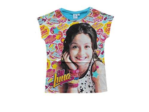 SOY LUNA Camiseta con diseño de camiseta (talla 116-152) az