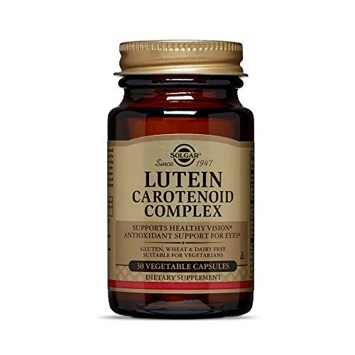 Solgar Lutein Carotenoid Complex Vegetable Capsules, 30 Count