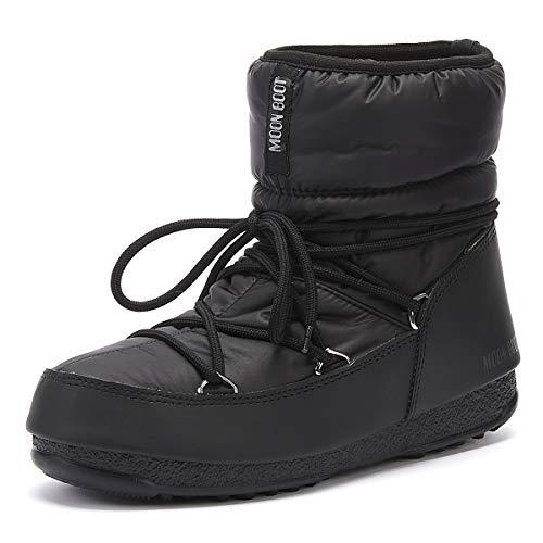 Moon Boot Damen Low Nylon Wp Schneestiefel, Schwarz (Nero 001), 39 EU