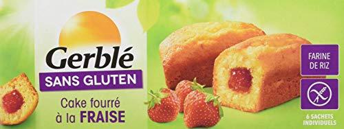 Gerblé Cake Fourré Fraise sans Gluten 210 g