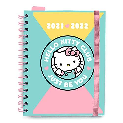 AGENDA ESCOLAR 2021-2022 Semana Vista Hello Kitty by Kalenda