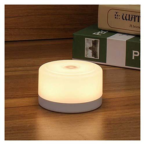 Lampada da Scrivania USB Ricaricabile LED Magnete Lampada da comodino Touch Stepless Dimmable Magnete Night Light for la casa della camera da letto della camera da letto del corridoio della camera da