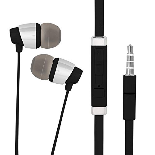 A2Z Shop in-Ear Headphones Earphones for iBall Andi5S Cobalt3, iBall Andi 5K Sparkle, iBall Andi4 IPS Tiger, iBall Andi 4.5P IPS Glitter, iBall Andi 5Q Cobalt Solus, iBall Andi 3.5KKe Super