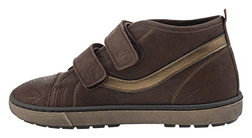 Billowy 6419c95 Leder Sneaker braun, Groesse:33.0