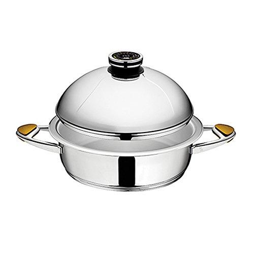 Zepter MediZep CookArt Kasserolle mit Kugeldeckel - Z-2850B - Ø28 cm - 5.0 L - h 9.0 cm