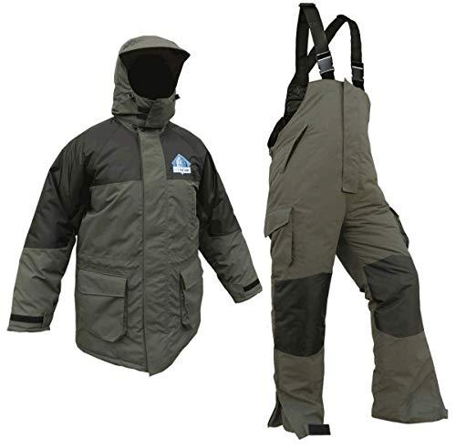 Icebehr-Zweiteiler, Allwetter-Anzug, modisch und funktionell, wasserabweisend, atmungsaktives Innenfutter, Stepp-Wärmefutter, Gr. S - 4XL (Größe 3XL)