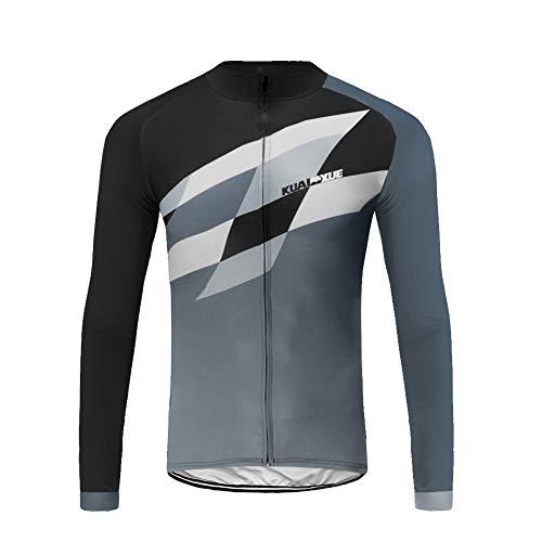 Uglyfrog Bike Wear Fahrradjacke Jersey Sportswear Winter Fleece Warm Lange Ärmel Winddicht Coat