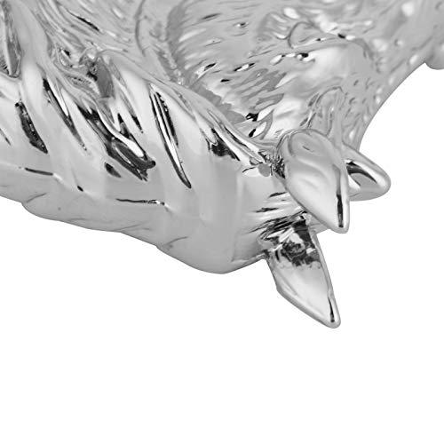 Alinory Tiradores, pomo de cajón, herrajes, Tiradores de Cabeza de Caballo, Moderno y Elegante, 2 Juegos Decorativos para Cocina, Oficina(3999 Golden Horse)