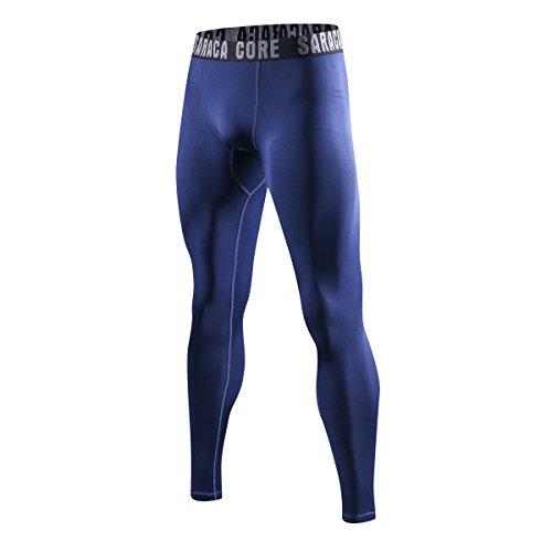 saracacore Männer Herren Unterhose Laufhose Kompressions Fitness Sports Leggings Tights