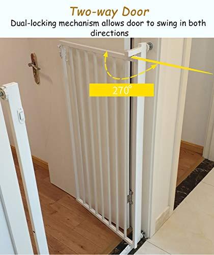 ZAQI Barreras para puertas y escaleras