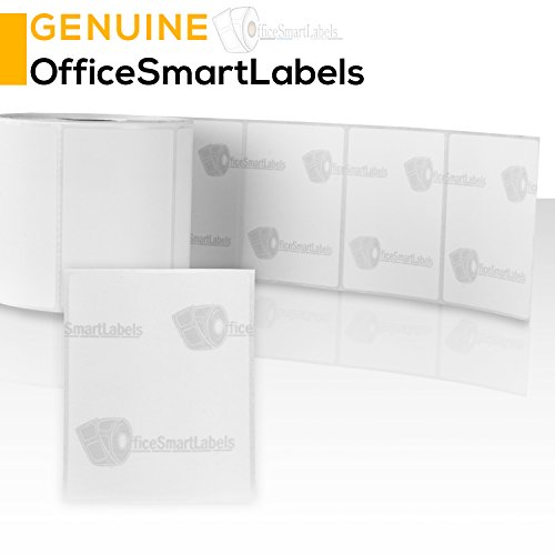 OfficeSmart Labels ZR1300200-3 x 2 Inch Removable Direct Thermal Labels, Compatible with Zebra Printers (4 Rolls, White, 750 Labels Per Roll, 1 inch Core) Photo #4